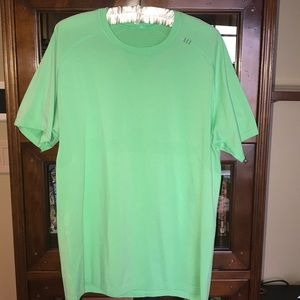Lulu lime green shirt